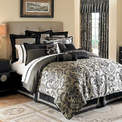 Black and white bedding sets ideas 12