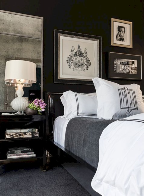 Black and white bedding sets ideas 15