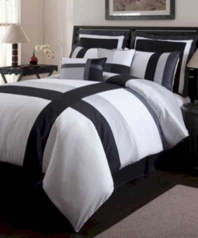 Black and white bedding sets ideas 16