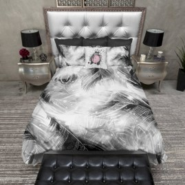Black and white bedding sets ideas 18