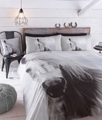 Black and white bedding sets ideas 27