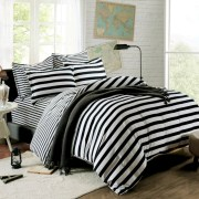 Black and white bedding sets ideas 34