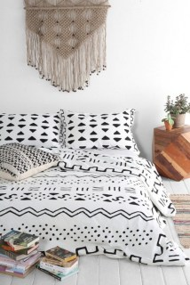 Black and white bedding sets ideas 36