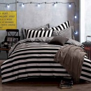 Black and white bedding sets ideas 54