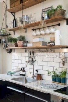 Budget friendly kitchen makeover ideas 32