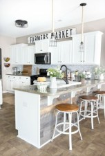 Budget friendly kitchen makeover ideas 34