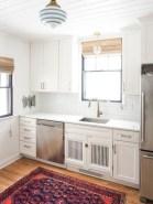 Budget friendly kitchen makeover ideas 44