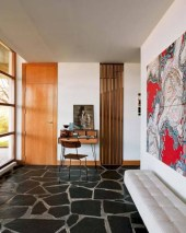 Classy living room floor tiles design ideas 07