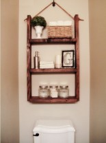 Cool organizing storage bathroom ideas (10)