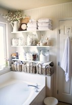 Cool organizing storage bathroom ideas (11)
