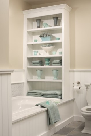 Cool organizing storage bathroom ideas (25)