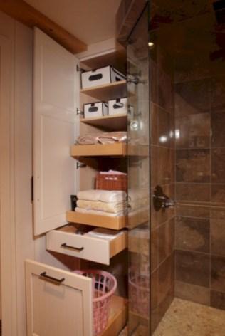 Cool organizing storage bathroom ideas (26)