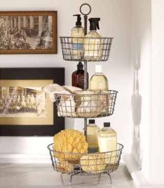 Cool organizing storage bathroom ideas (8)