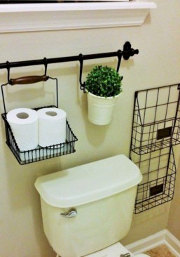 Cool organizing storage bathroom ideas (9)