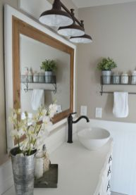 Creative diy bathroom ideas on a budget (30)