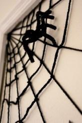Creative diy halloween decorations using spider web 19