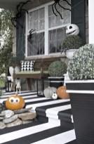 Creative diy halloween decorations using spider web 31