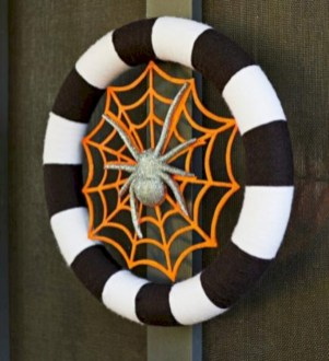 Creative diy halloween decorations using spider web 46