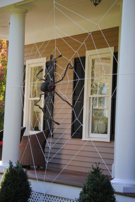 Creative diy halloween outdoor decoration ideas 14