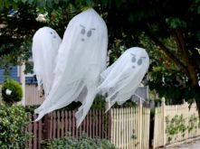Creative diy halloween outdoor decoration ideas 17