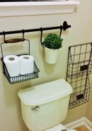 Creative storage bathroom ideas for space saving (30)