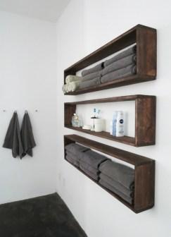 Creative storage bathroom ideas for space saving (33)