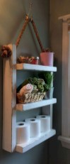 Creative storage bathroom ideas for space saving (41)