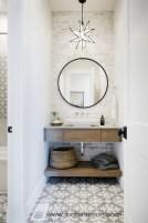 Creative storage bathroom ideas for space saving (42)