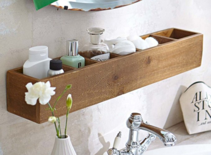 Creative storage bathroom ideas for space saving (50)