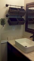 Creative storage bathroom ideas for space saving (8)