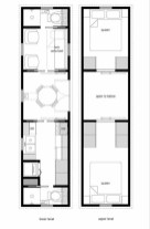 Creative two bedroom apartment plans ideas 16
