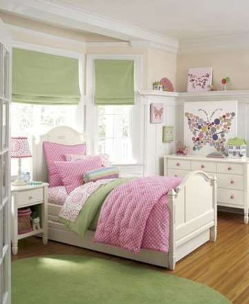 52 Cute Baby Girl Bedroom Decoration Ideas - Round Decor