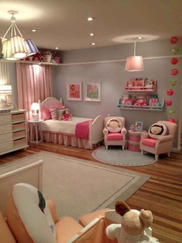 Cute baby girl bedroom decoration ideas 10