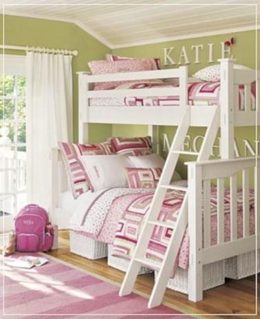 Cute baby girl bedroom decoration ideas 16