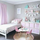 Cute baby girl bedroom decoration ideas 20
