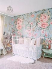 Cute baby girl bedroom decoration ideas 22