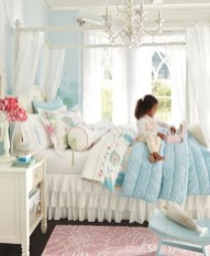 Cute baby girl bedroom decoration ideas 24