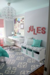 Cute baby girl bedroom decoration ideas 27