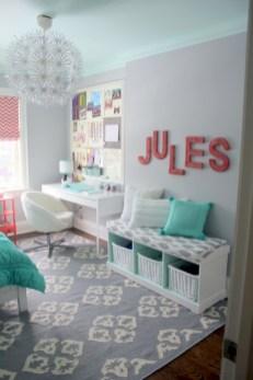 Cute baby girl bedroom decoration ideas 27