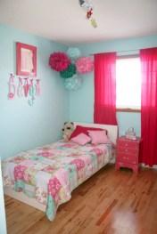 Cute baby girl bedroom decoration ideas 33