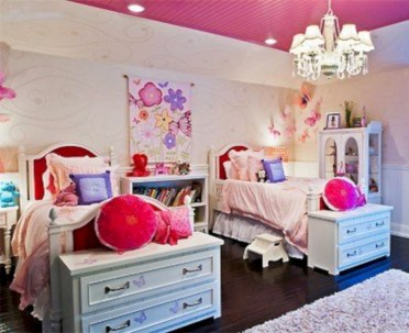 Cute baby girl bedroom decoration ideas 38