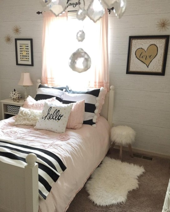 Cute baby girl bedroom decoration ideas 48