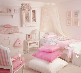 Cute baby girl bedroom decoration ideas 53