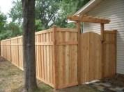 Diy backyard privacy fence ideas on a budget (22)