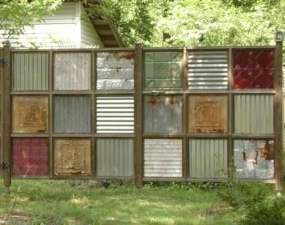 Diy backyard privacy fence ideas on a budget (33)