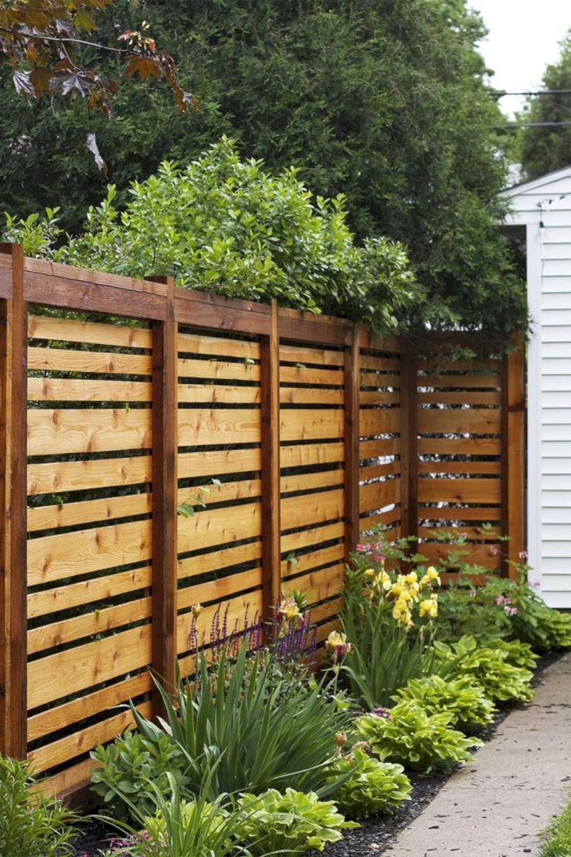 Diy backyard privacy fence ideas on a budget (34)