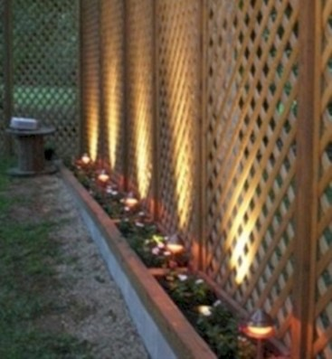 Diy backyard privacy fence ideas on a budget (39)