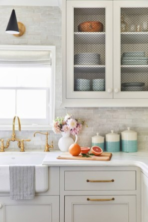 Decorate awesome kitchen with farmhouse cabinet (26)