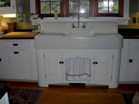 Decorate awesome kitchen with farmhouse cabinet (65)