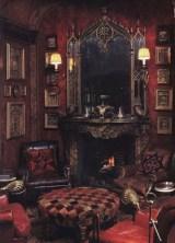 Elegant halloween living room decoration ideas 01